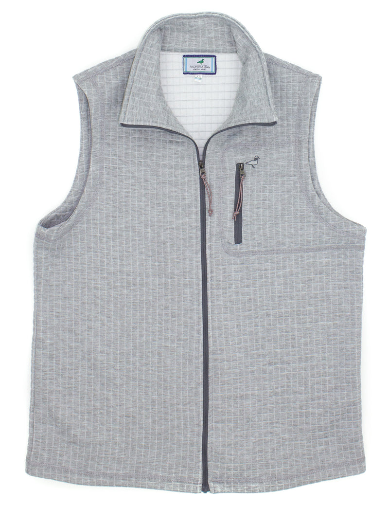 Delta Vest Heather Grey