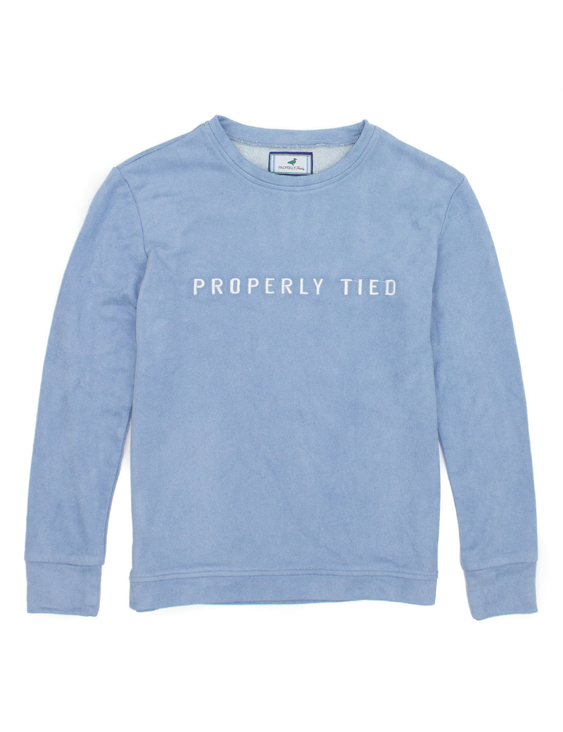 Asher Crew Neck Powder Blue