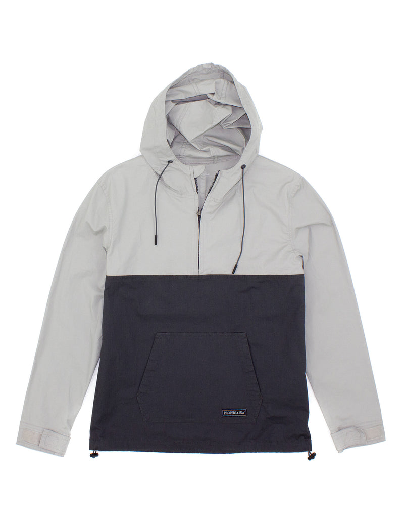 Ridge Anorak Granite