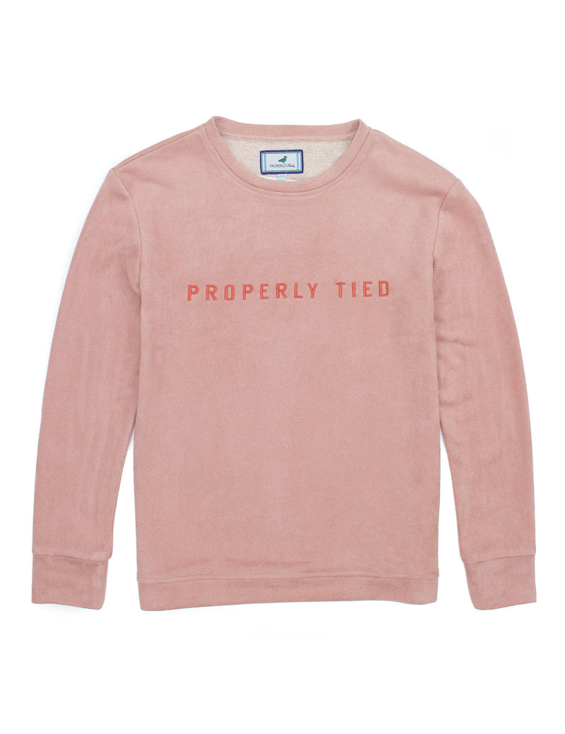 Asher Crew Neck Blush