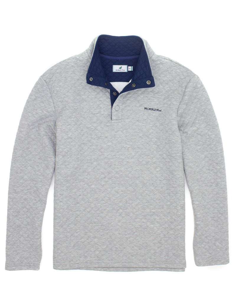 Club Pullover Light Heather Grey
