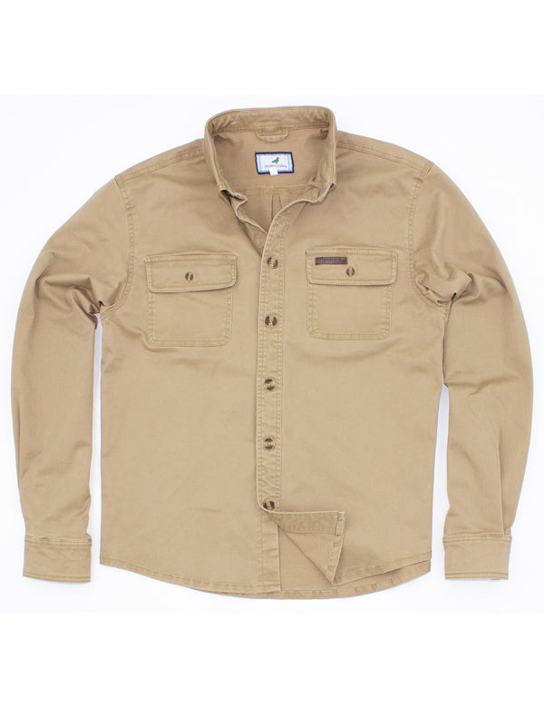 Harvest Work Shirt Camel