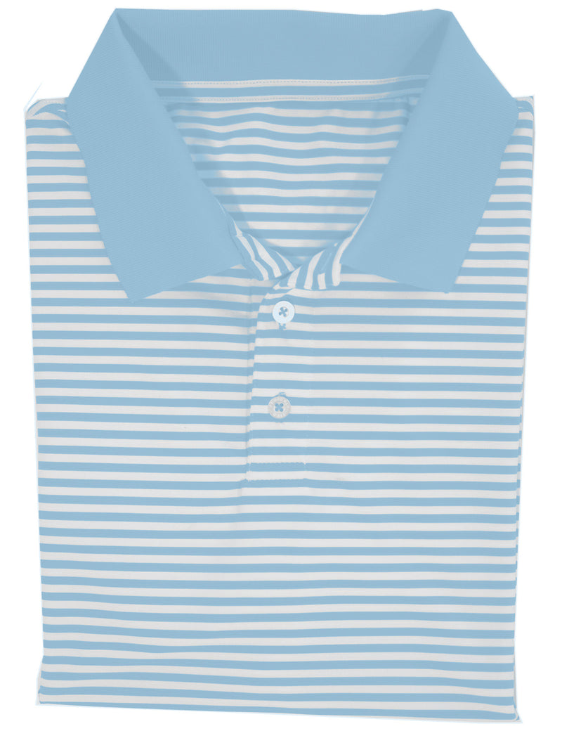 Gameday Polo Powder Blue