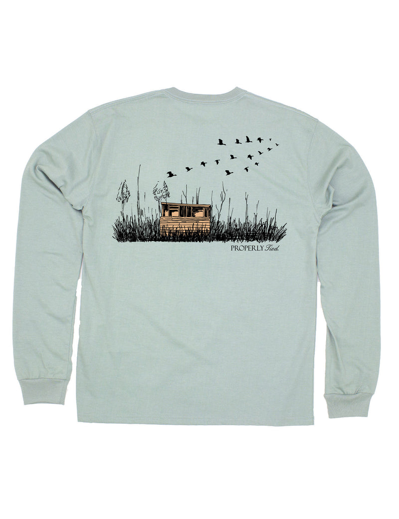 Duck Blind LS Sage