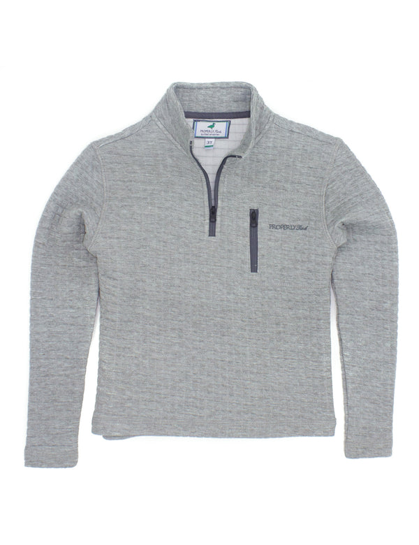 LD Delta Pullover Heather Grey