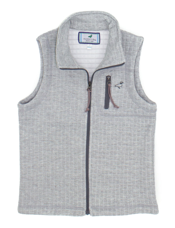 LD Delta Vest Heather Grey