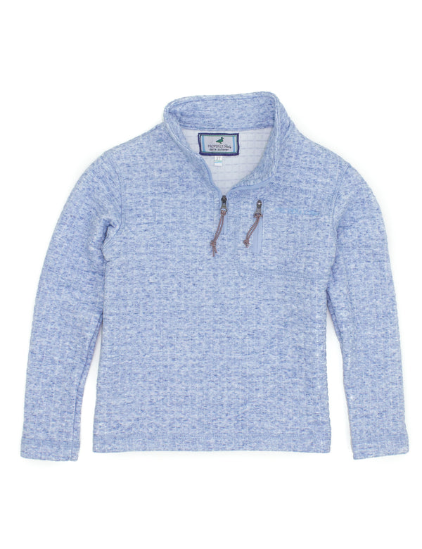 LD Delta Pullover Powder Blue