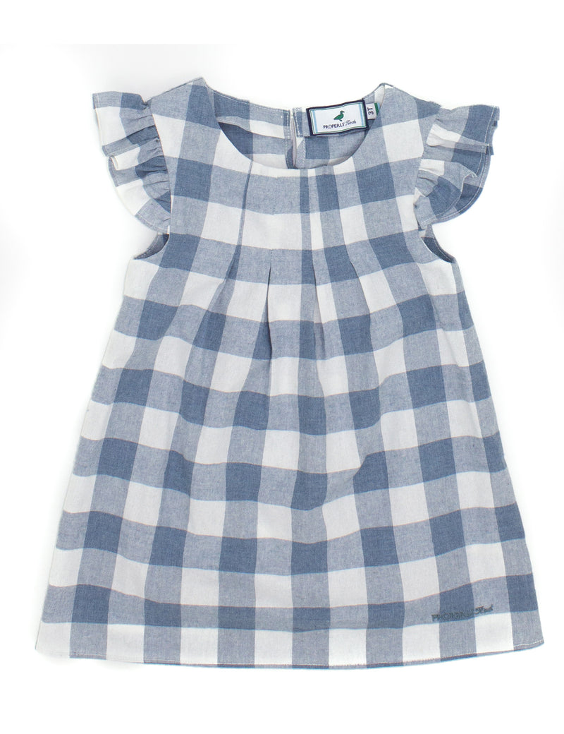 LD Mary Beth Dress Stone Blue