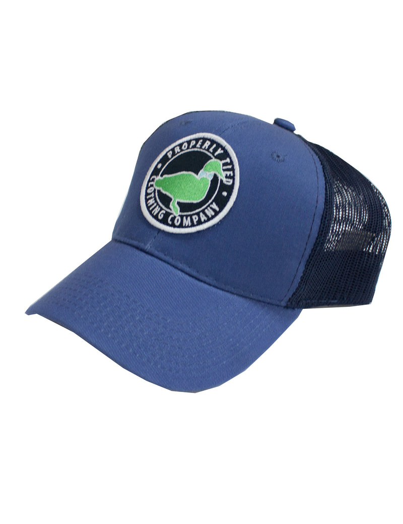 Youth Trucker Hat Circle Logo
