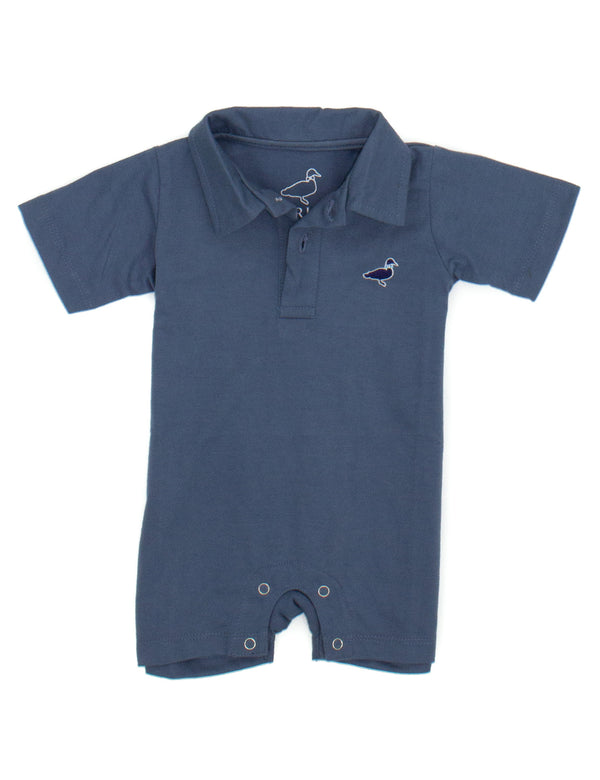 LD Louis Polo Shortall Stone Blue