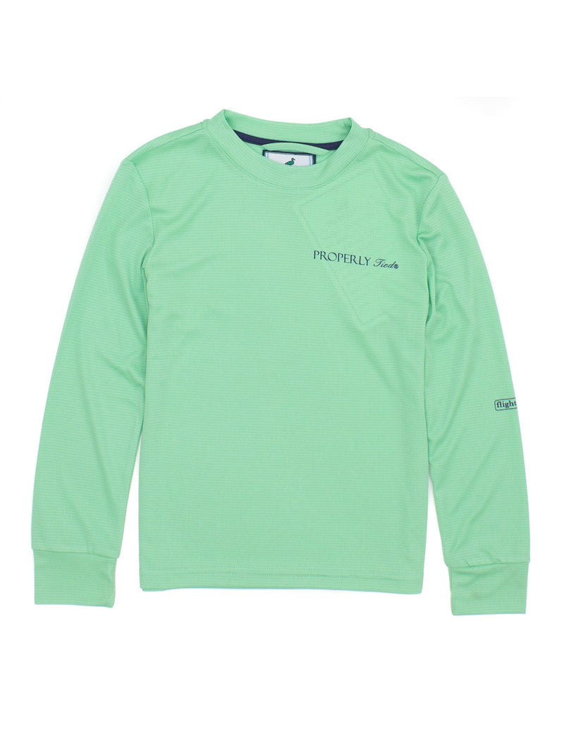 LD Flight Cool Tech LS Seafoam