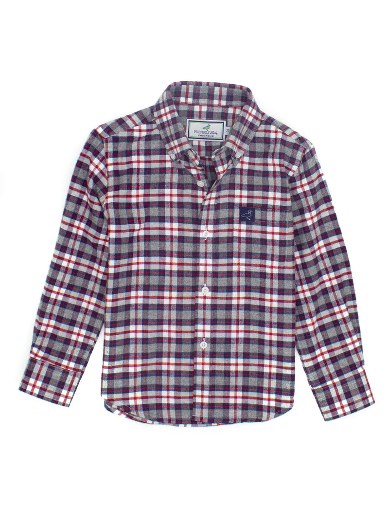 LD Flannel Clay Mountain