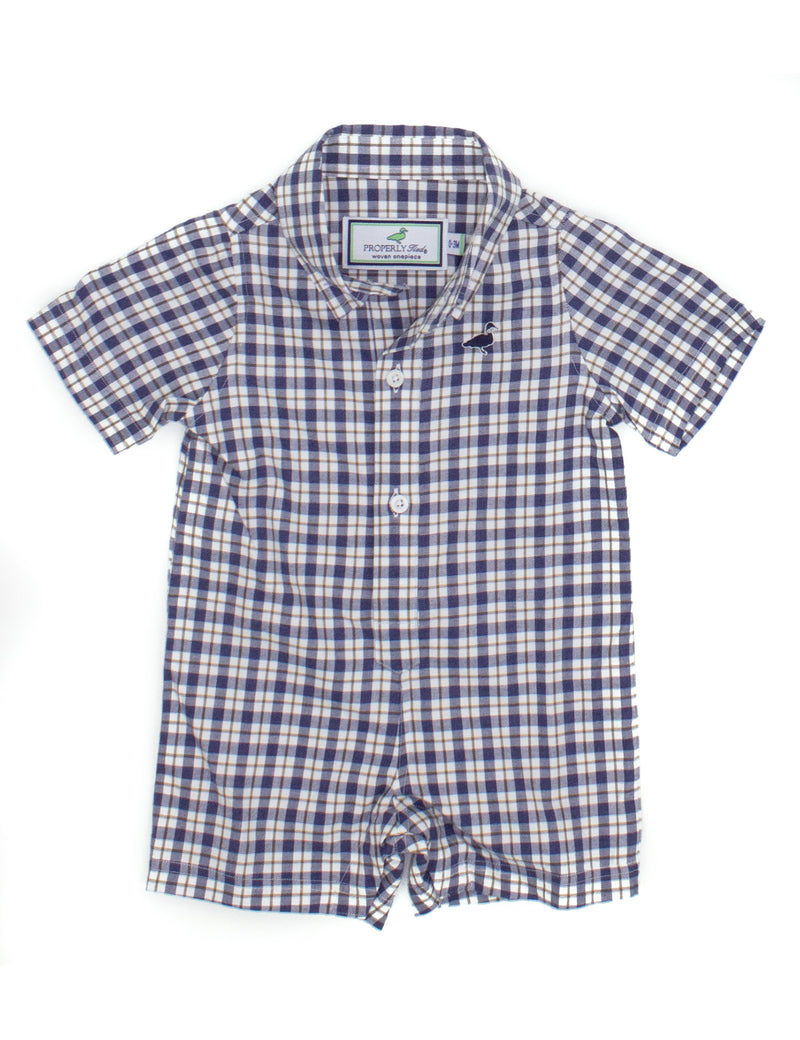 LD Seasonal Woven Shortall Bird Dog