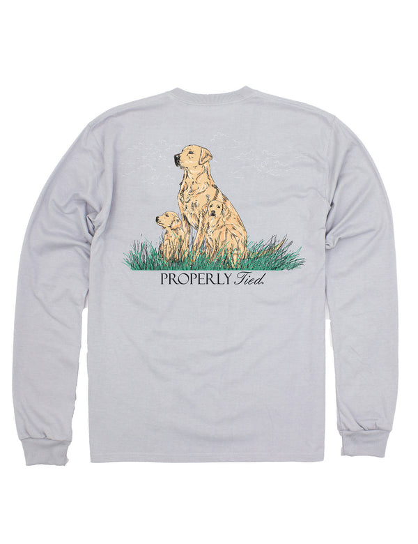 LD Dog Days LS Ice Grey