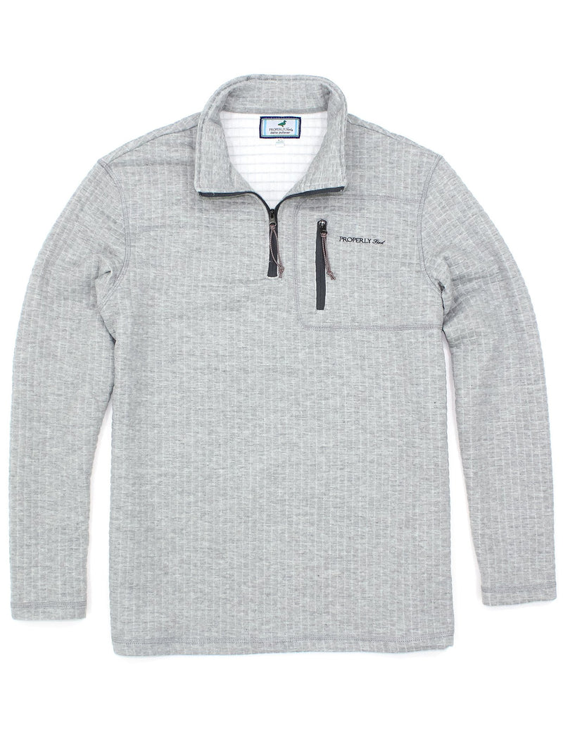 Delta Pullover Heather Grey