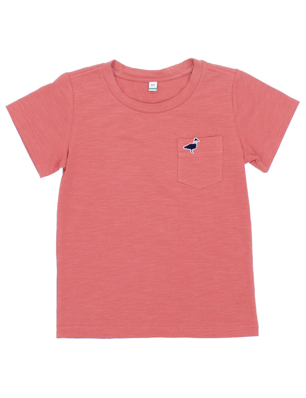 LD Shore Tee SS Nantucket Red