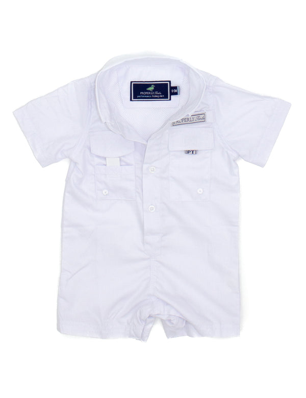 LD Performance Fishing Shortalls Polar