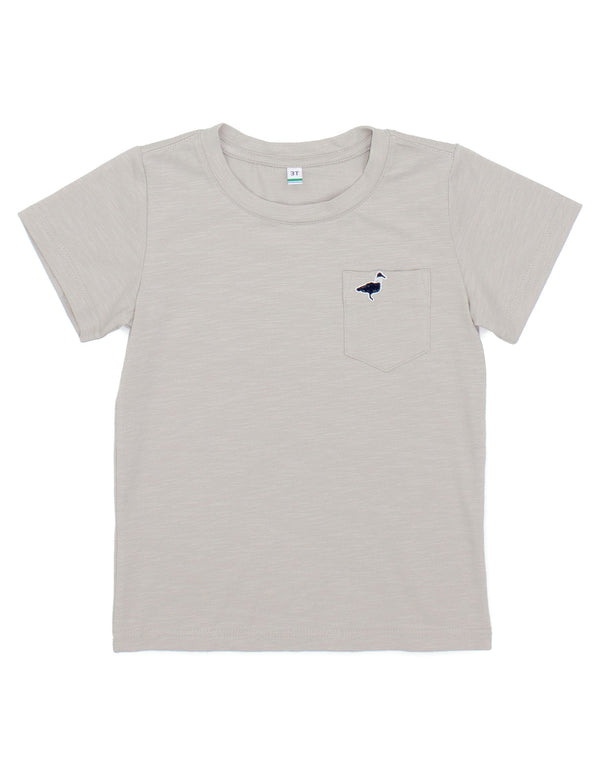 LD Shore Tee SS Pewter