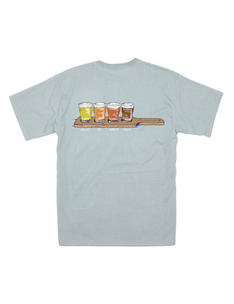 Beer Flight SS Chrome Grey