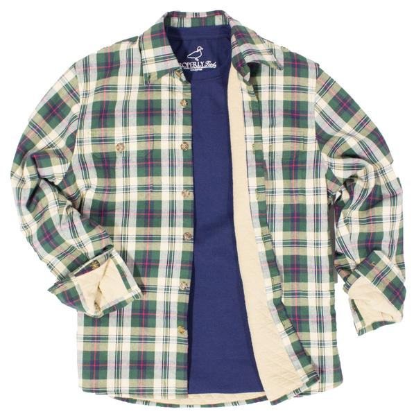 Cypress Shirt Jacket Evergreen