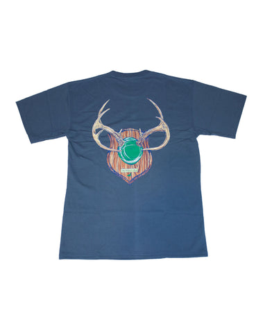 Happy Camper Short Sleeve Midnight Heather