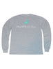 Classic Logo Long Sleeve Light Heather Grey