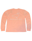 Faded Logo Long Sleeve Melon Heather