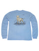 Lil Ducklings Labrador Long Sleeve Light Blue
