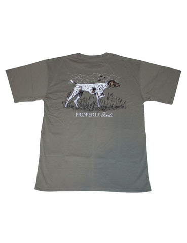 Stay True Short Sleeve Chrome Grey