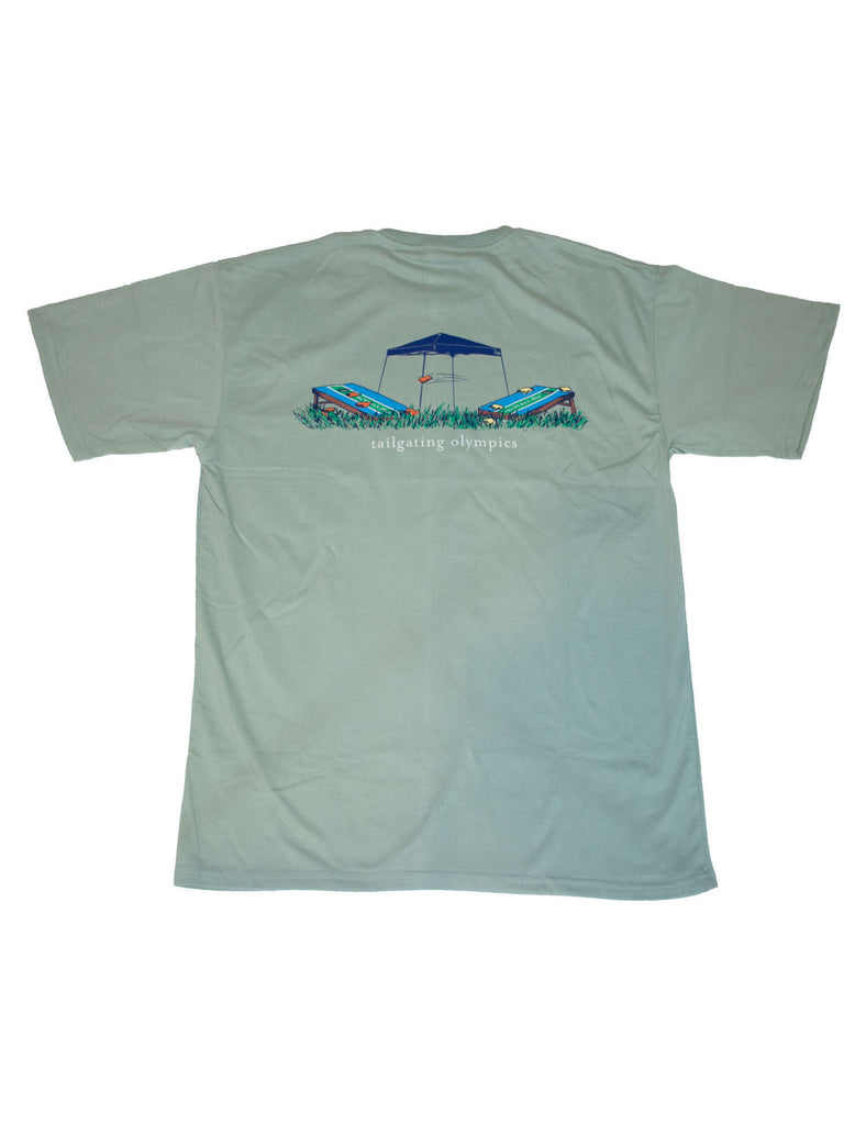 Tailgating Olympics Short Sleeve Mint Green