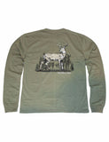Whitetail Long Sleeve Olive