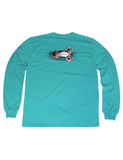 Lil Ducklings Wood Duck Long Sleeve Teal