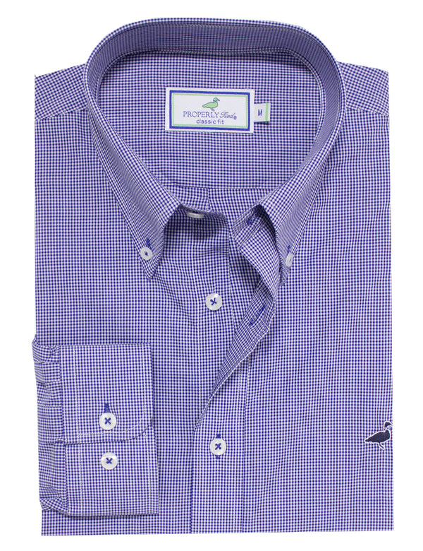 LD Gameday Sportshirt Blue