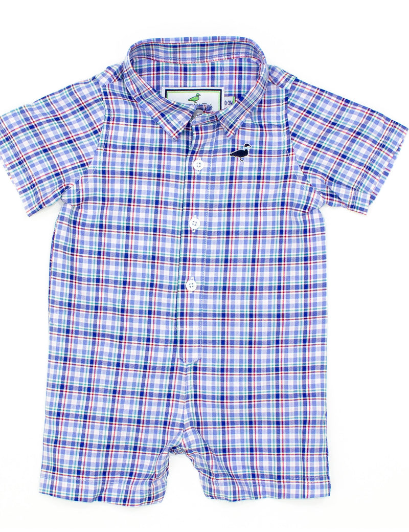 LD Seasonal Woven Shortall Boston