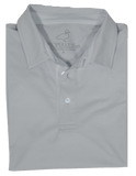 Wharf Performance Polo Chrome Grey