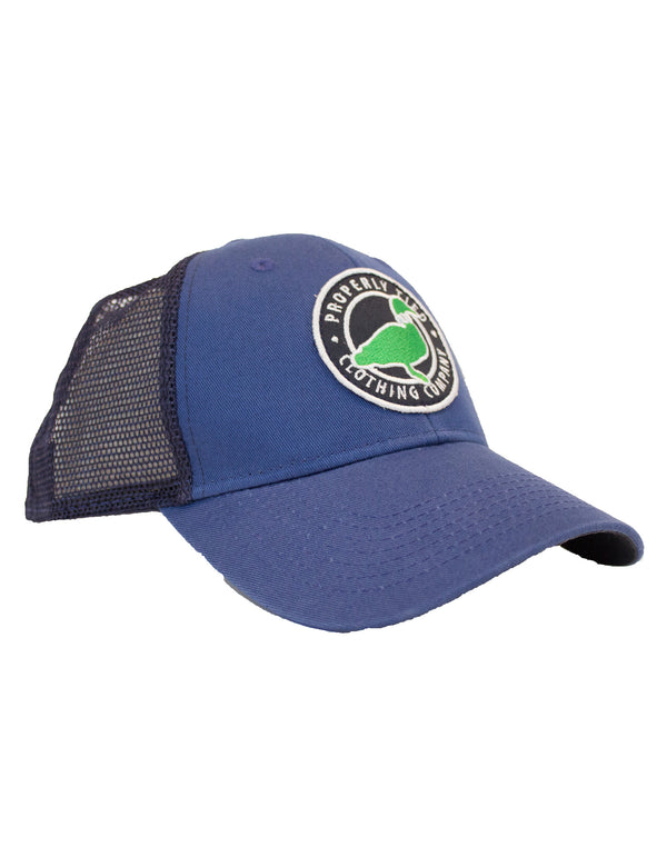Trucker Hat Circle Logo