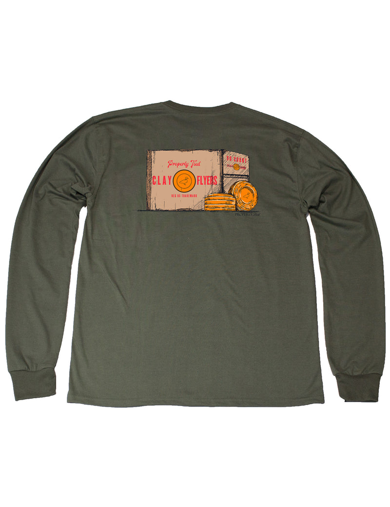 LD Clay Flyers LS Olive