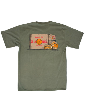 Classic Logo Short Sleeve Light Heather Grey