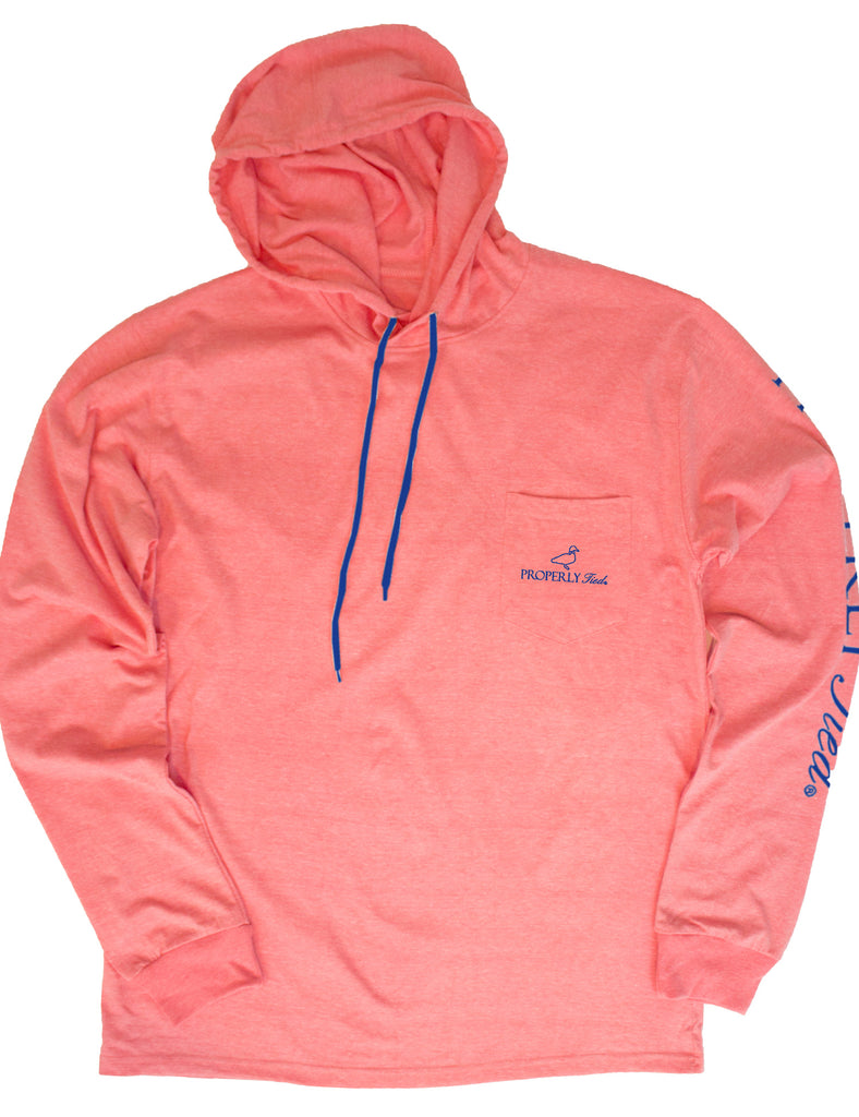 Gulf Hoodie Coral Heather