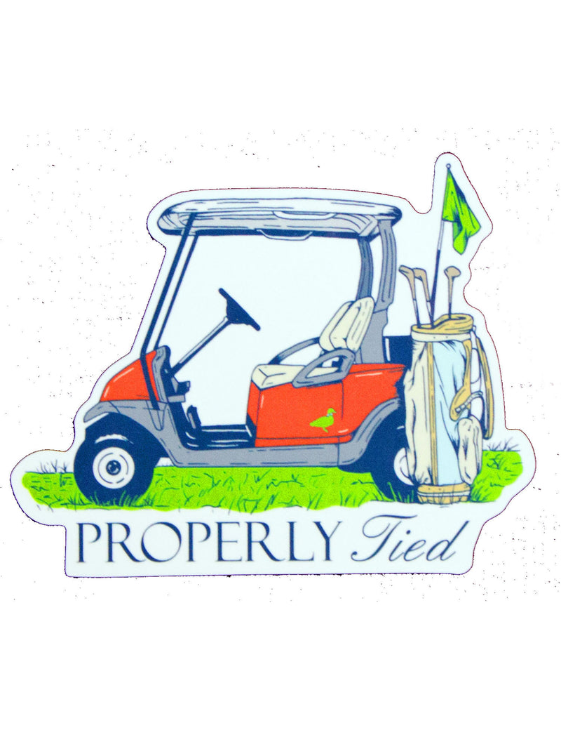 Country Club Sticker