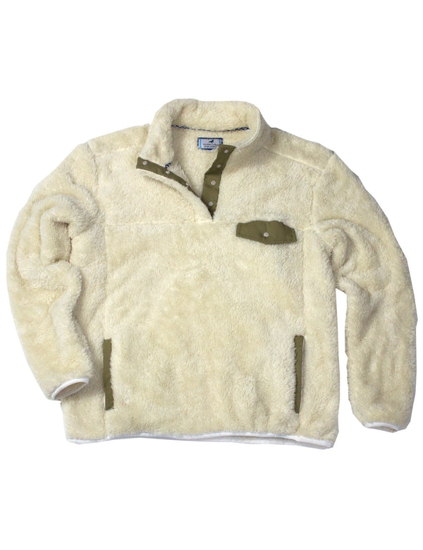 LD High Point Pullover Cream