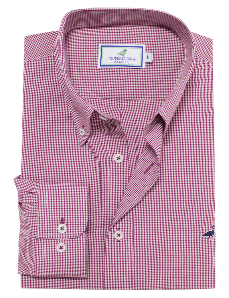 LD Gameday Sportshirt Crimson