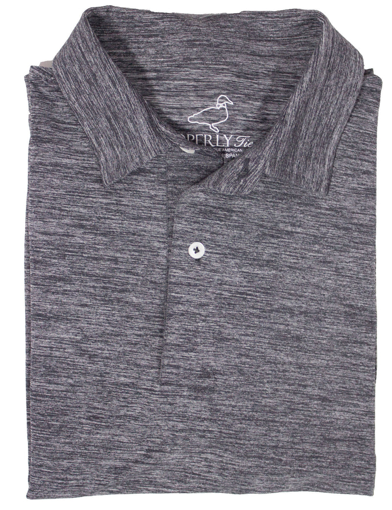 Driver Performance Polo Dark Grey Heather