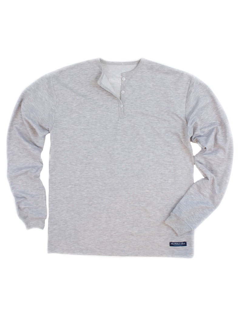 Field Henley Heather Grey