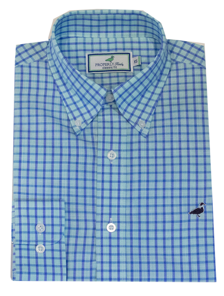 Seasonal Sportshirt Grayton Teal