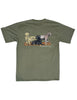 Hunting Dogs Short Sleeve Olive