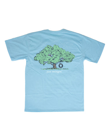 Lil Ducklings Spring Training Short Sleeve Light Blue