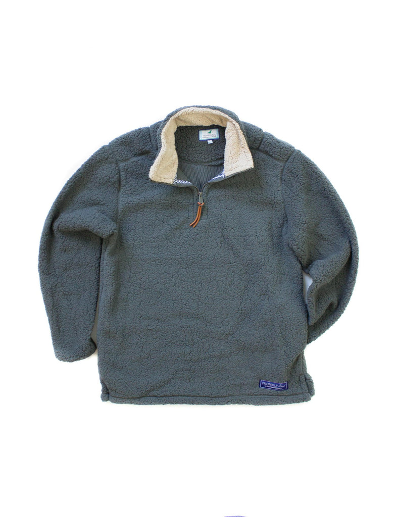 Lil Ducklings Kensington Pullover Dark Grey