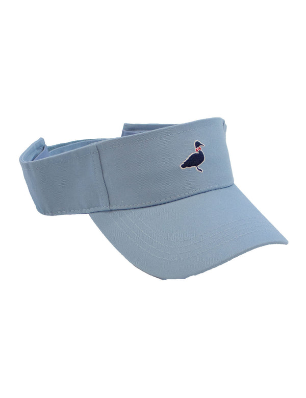 Cotton Visor Light Blue