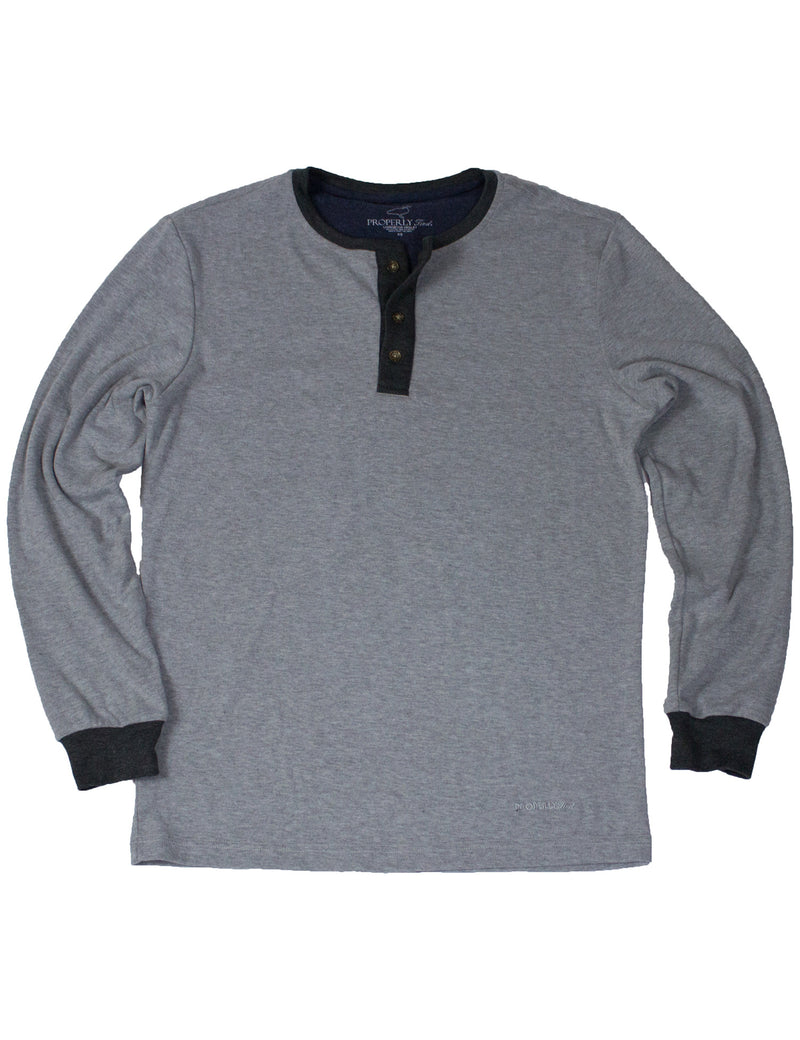 Livingston Henley Light Grey